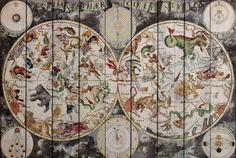 Картина на дереве Дом Корлеоне Карта Винтаж 01-0355-100х150