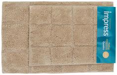 Набор ковриков для ванной комнаты impress Quadro