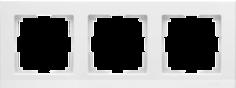 Рамка для выключателя Werkel WL04-Frame-03 a028923 белый
