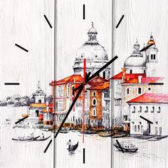 Настенные часы Венеция 30 х 30 см Дом Корлеоне