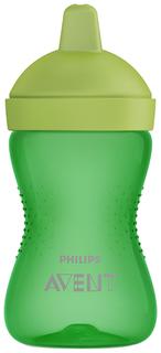 Чашка-непроливайка с твердым носиком Philips Avent 300 мл Зеленый