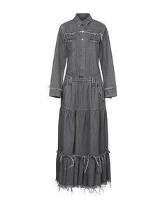 Длинное платье Alanui