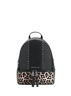 Michael Michael Kors рюкзак Rhea с леопардовым принтом