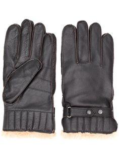 Barbour перчатки с искусственным мехом