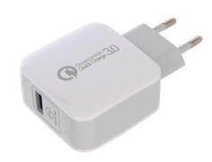 Зарядное устройство Red Line NQC-4 Tech USB QC 3.0 White УТ000016519