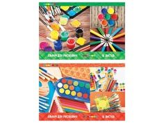 Альбом для рисования ArtSpace Яркие краски A4 16 листов А16Э_23027