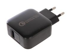 Зарядное устройство Red Line NQC-4 Tech USB QC 3.0 Black УТ000016520