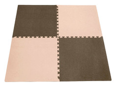 Развивающий коврик Экопромторг Мягкий пол универсальный Beige-Brown 60МП7502/4625