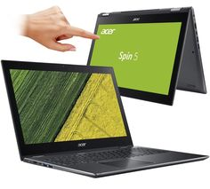 Ноутбук Acer Spin 5 SP515-51GN-581E NX.GTQER.001 (Intel Core i5-8250U 1.6 GHz/8192Mb/1000Gb/nVidia GeForce GTX 1050 4096Mb/Wi-Fi/Bluetooth/Cam/15.6/1920x1080/Touchscreen/Windows 10 64-bit)