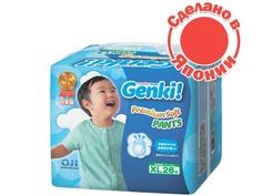 Подгузники Genki Трусики XL 12 -17кг 26шт