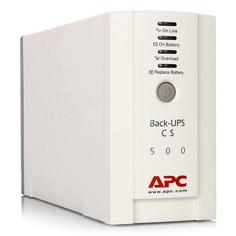 Источник бесперебойного питания APC Back-UPS CS 500VA 300W BK500EI A.P.C.