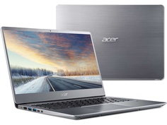 Ноутбук Acer Swift 3 SF314-56-337C Silver NX.H4CER.005 (Intel Core i3-8145U 2.1 GHz/8192Mb/128Gb SSD/No ODD/Intel HD Graphics/Wi-Fi/Bluetooth/Cam/14.0/1920x1080/Linux)