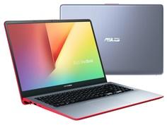 Ноутбук ASUS VivoBook S530FN-BQ368T Grey 90NB0K42-M05960 (Intel Core i5-8265U 1.6 GHz/8192Mb/256Gb SSD/nVidia GeForce MX150 2048Mb/Wi-Fi/Bluetooth/Cam/15.6/1920x1080/Windows 10 Home 64-bit)