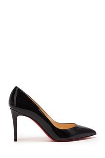 Черные лакированные туфли Pigalle 85 Christian Louboutin