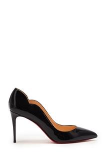 Черные лаковые туфли Hot Chick 85 Christian Louboutin