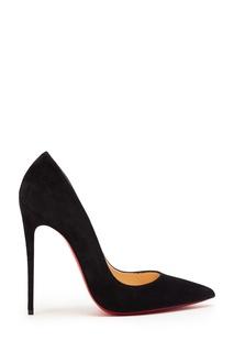 Велюровые туфли So Kate 120 Christian Louboutin