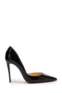 Черные лакированные туфли Iriza 100 Christian Louboutin