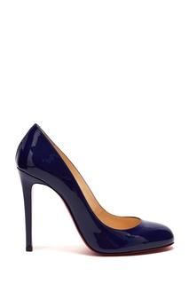 Синие лакированные туфли Fifille 100 Christian Louboutin