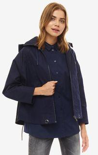 Легкая синяя куртка из хлопка Armani Exchange