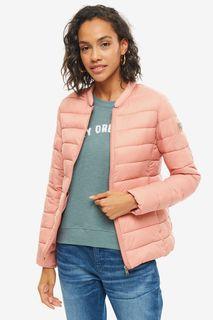 Розовая легкая куртка с чехлом Roxy