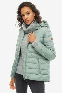 Куртка мятного цвета с капюшоном Roxy