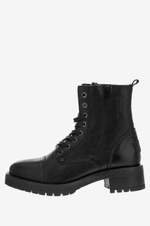 Ботинки из натуральной кожи на каблуке Bullboxer