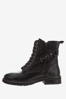 Кожаные ботинки с декоративным ремешком Wrangler