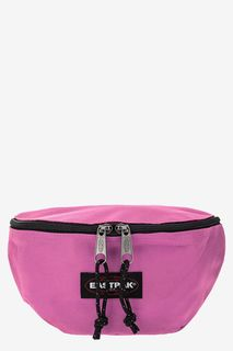 Розовая поясная сумка из текстиля Eastpak