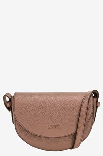 Розовая поясная сумка с плечевым ремнем Liu Jo