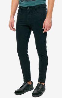 Черные джинсы скинни Leo Mavi