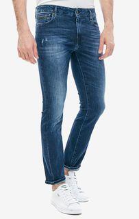 Рваные джинсы скинни с карманами Angels Guess