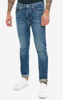 Джинсы скинни с потертостями CKJ 015 Calvin Klein Jeans