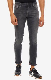 Серые скинни джинсы J14 Armani Exchange