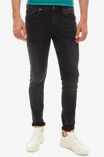 Черные джинсы скинни с декоративными заломами Culver Tom Tailor Denim