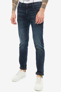 Синие джинсы скинни Barret metal Antony Morato