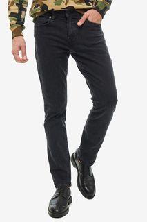 Черные джинсы скинни с низкой посадкой Angels Guess