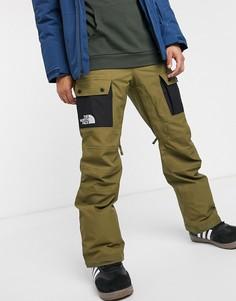 Лыжные брюки цвета хаки The North Face Slashback-Черный