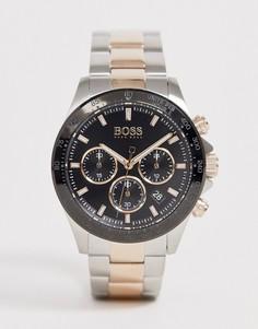 Часы-браслет BOSS 1513757 Hero Sport Lux-Серебряный