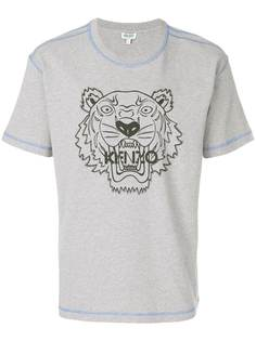 Kenzo футболка с тигром