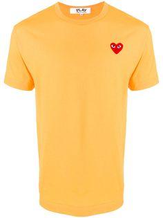 Comme Des Garçons Play рубашка с вышивкой