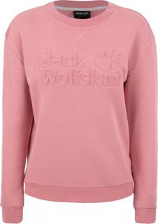 Джемпер женский JACK WOLFSKIN Logo, размер 46-48