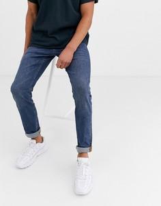 Синие зауженные джинсы Esprit-Синий