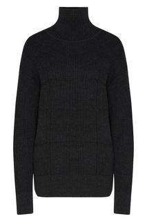 Темно-серый полушерстяной свитер Laroom