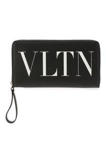 Кожаное портмоне Valentino Garavani Valentino