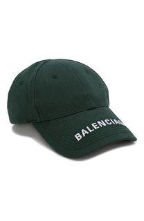 Хлопковая бейсболка Balenciaga