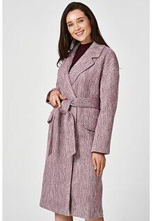 Легкое пальто с поясом Снежная Королева