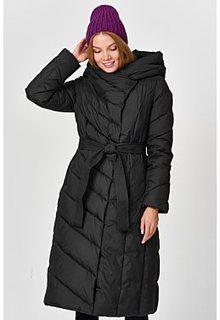 Стеганое утепленное пальто La Reine Blanche