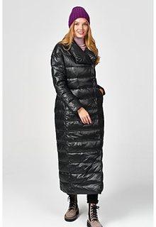 Длинное пальто-пуховик Neohit