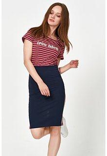 Трикотажная юбка с отделкой Tom Tailor
