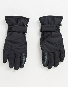Черные лыжные перчатки Protest-Черный